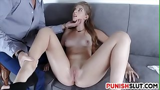 Rough And Rugged Nailing For Teen Slut Alyce Anderson
