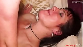 Mom is excited about fucking her son for the first time