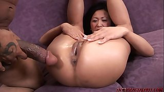 KItty Langdon Stretched out By a BBC