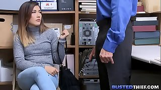 Virgin Asian Teenage Shoplifter Fucked By Cop