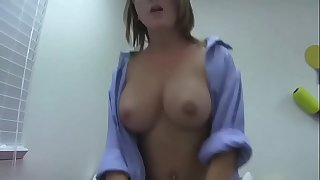 busty big hooters sister forced to have hookup with real pecker