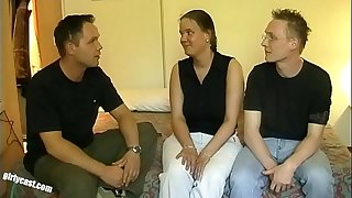 Plump Kerstin Casting - Hubby protested