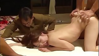 Japanese wife forced in front of husband by 4 guys (Full: shortina.com/qh33T)
