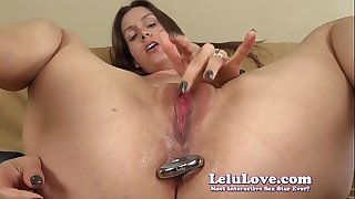 I put my anal cork in my asshole then stimulate my pussy to ejaculation JOI