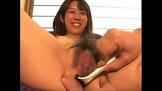 asian from AznBeauties .com gets shaved